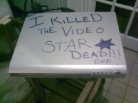 I Killed The Video Star Dead, a rare artwork piece by John McKiernan